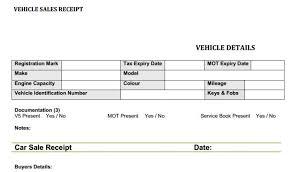 Auto Sales Reciept Car Sale Receipt Template Car Sales Invoice Template Uk Invoice