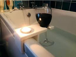 bathtub wine glass holder bathtub wine holder by bathtub book and wine glass holder
