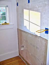 Remodelaholic Complete Bathroom Remodel With Marble Subway Tile - Complete bathroom remodel