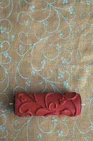 patterned paint roller for home decor
