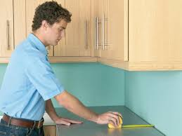 Measuring For Granite Kitchen Countertop How To Install A Countertop How Tos Diy