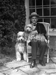 John Galsworthy, English Novelist and Playwright, Holding Dog with Another  Dog' Premium Photographic Print | Art.com | Photographic prints, John  galsworthy, Photographic print