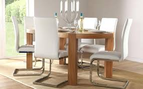 oak and leather dining room chairs epic modern dining room chairs leather on fabulous inspirational home