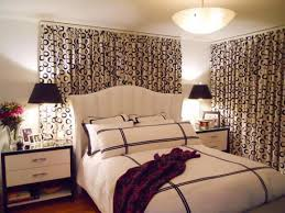 Small Bedroom Window Treatment Patterned Window Panels Small Bedroom Window Treatment Ideas