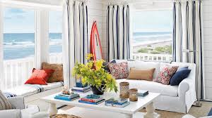 Nautical living room furniture Beautiful Beach Infuse Nautical Spirit Impexmarineco 48 Beautiful Beachy Living Rooms Coastal Living