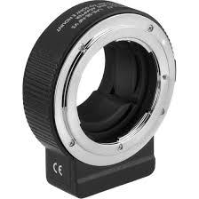 Vello LAE-SE-NFV5 Nikon F-<b>Mount Lens</b> to Sony E-<b>Mount</b> Camera ...