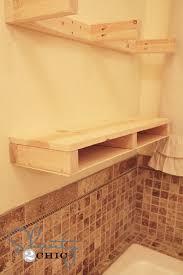 Making Floating Shelves Easy DIY Floating Shelves Floating Shelf Tutorial Video Free Plans 39