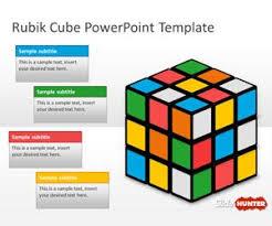 Free Rubik Cube Powerpoint Template Free Powerpoint