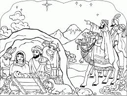 Small Picture Coloring Pages Awesome Jesus Birth Coloring Pages Photos Images