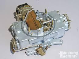 Autolite 4100 Cfm Chart Autolite 4100 Carburetor Installation Mustang Monthly Magazine