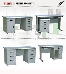 computer desk with locking drawer light grey steel cpu storage drawers office desks pertaining ultramodern
