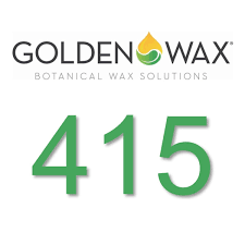 gw415 has a higher melt point which enables it to retain a higher fragrance oil load to give you a stronger scent throw