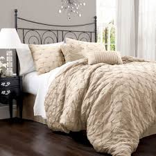 Best 25+ Queen size comforters ideas on Pinterest | White ... & Lake Como Taupe Queen Size Comforter Sets -would be cute with burlap bedding  skirt Adamdwight.com