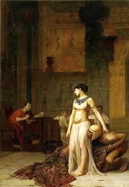 cleopatra vii history encyclopedia cleopatra and caesar jean latildecopyon gatildecopyratildeacuteme 1824 1904