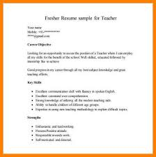 5 Simple Resume Format For Freshers Legacy Builder Coaching