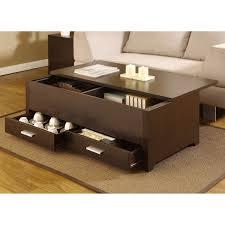 ... Coffee Table, Coffee Table With Storage Box Coffee Furniture Of America  Knox Dark Espresso Storage ...