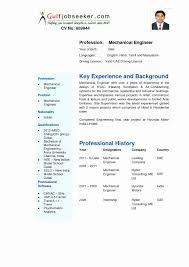 Sample Resume For Mechanical Engineer Fresh Graduate Pdf Fresh