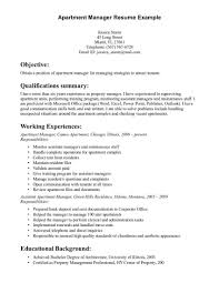 Assistant Property Manager Resume Template | Resume Builder