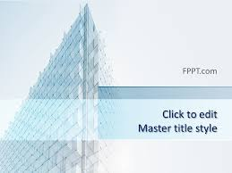 Architectural Powerpoint Template Free Architecture Perspective Powerpoint Template Free