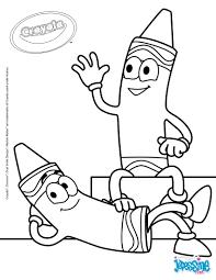 Coloriages Deux Crayons Se Reposent Fr Hellokids Com