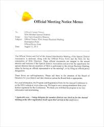 Memo To Board Of Directors 100 Meeting Memo Examples Samples 34