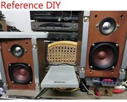 ghxamp 3 inch 4ohm 20w full range speaker drum paper midrange woofer speakers for home theater pc bluetooth hifi diy