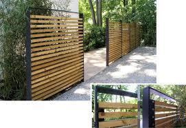 Moderne Garten Sichtschutz Holz Bambus Lovely Farbe Der Malerei