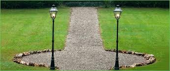 lighting medium image for outdoor post lights with photocell lamp post garden lights garden accessories
