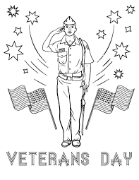 Free Veterans Day Coloring Page