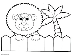 Coloring Pages Forest Animals Rainforest Animal Coloring Pages Free Animal Coloring Pages Amazon