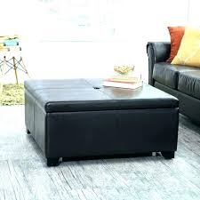 black leather square ottoman leather square ottoman coffee table big square ottoman coffee table leather square