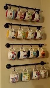 reclaimed wood mug rack urban rustic. Organiza Tus Tazas Con Ideas Que Te Servirán Para Decorar Tu Cocina Reclaimed Wood Mug Rack Urban Rustic K