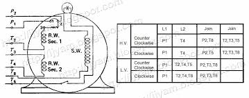 electrical control circuit schematic diagram of capacitor start externally reversible dual voltage capacitor start motor thermal protector