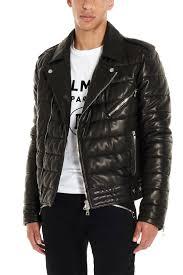 balmain biker jacket cod sh18257l0500pa