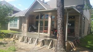 Build A Concrete Patio Patios Done For You Spring Concrete