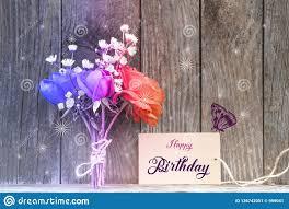 Birthday Flowers Background Design Happy Birthday Card Stock Image Image Of Background 126742051