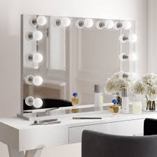 Where To Get A Vanity Mirror With Lights Tips Comfortable Lighted Mirrors Design For Home