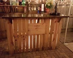 pallet furniture etsy. Indoor Pallet Bar Reclaimed Wood Outdoor By Rusticremake On Etsy Home Design 20 Furniture