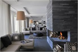 appealing furniture design with modern stone fireplace for home interior amazing grey stone wall tile