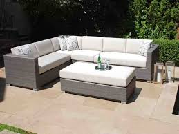 Patio Furniture Amazing Gray Wicker Outdoors The Inside Ordinary