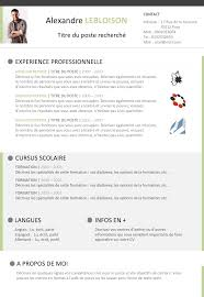 Resume Template Libreoffice Mesmerizing Cv Libre Office CV LIBRE OFFICE Pinterest