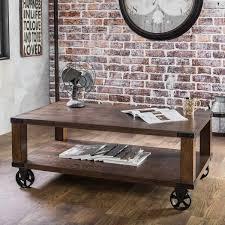 Furniture of America Royce Modern Industrial Coffee Table