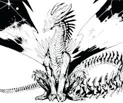 Dragon Coloring Pages Realistic Destiny Real Dragon Coloring Pages