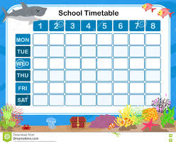 Picture Of Time Table Chart School Time Table Chart Images Www Bedowntowndaytona Com