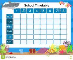 School Time Table Chart Images Www Bedowntowndaytona Com