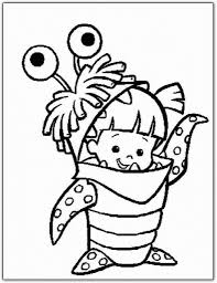 Monster Inc Coloring Pages pertaining to Cozy - Cool Coloring ...
