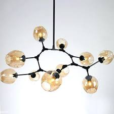 branching bubble chandelier branching bubble horizontal chandelier 5