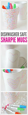 dishwasher safe sharpie mug diy catchmyparty com
