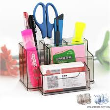 How To Make A Pen Display Stand Gorgeous Office School Supplies Multifunction Luxury Pen Stand Pen Holder