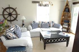 Steering Wheel And Bookshelf Are Awesome Beach Theme Living Room Nautical Living Room Nautical Decor Living Room